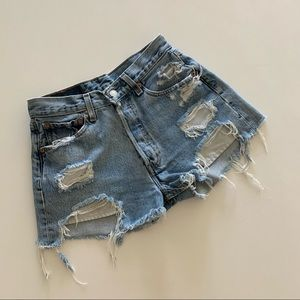 Vintage Levi's Cut Off Shorts